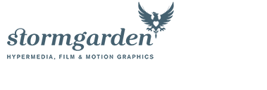 StormGarden - Hypermedia, motion graphics and website design in Oxfordshire